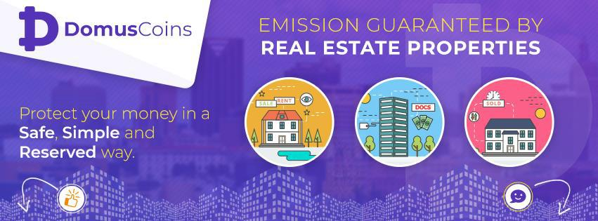Domuscoins - Stabilizing the market by combining real estate and blockchain