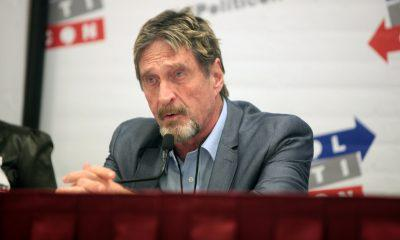 John McAfee still stands by his December 2020 Bitcoin prediction