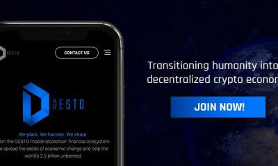 Desto - A mobile blockchain fintech for banked and unbanked