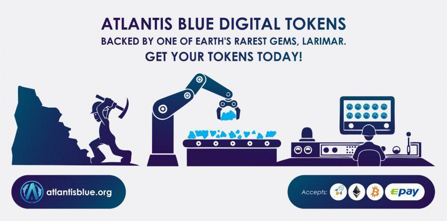 Atlantis Blue Digital Tokens - On The Radar