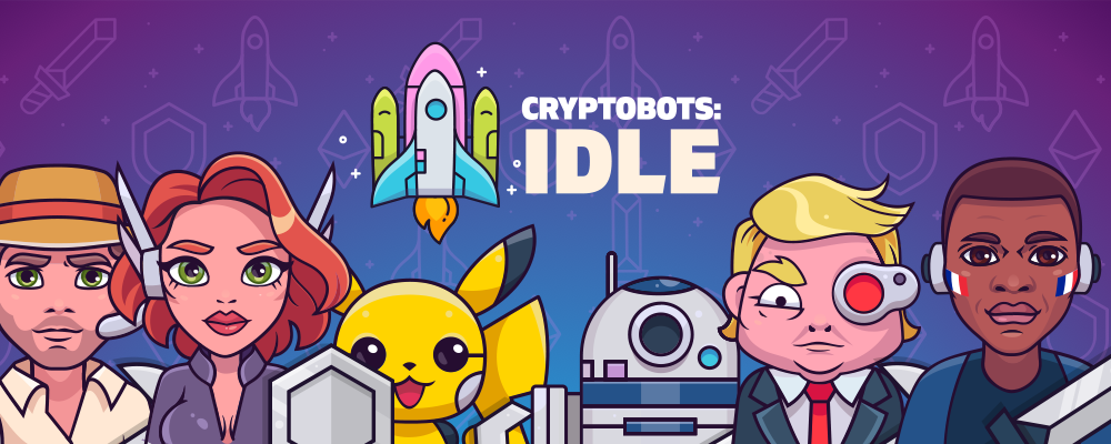 The next-gen blockchain-based game CryptoBots: Idle launched their pre-sale!