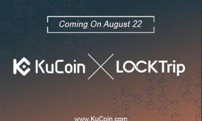 KuCoin Blockchain Asset Exchange Excitedly Announces Its Listing To Locktrip's LOC TokenKuCoin Blockchain Asset Exchange Excitedly Announces Its Listing To Locktrip's LOC Token