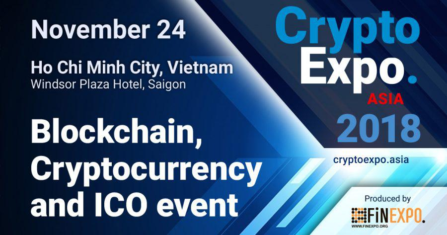 Crypto EXPO Asia promises to gather the whole financial world in Vietnam