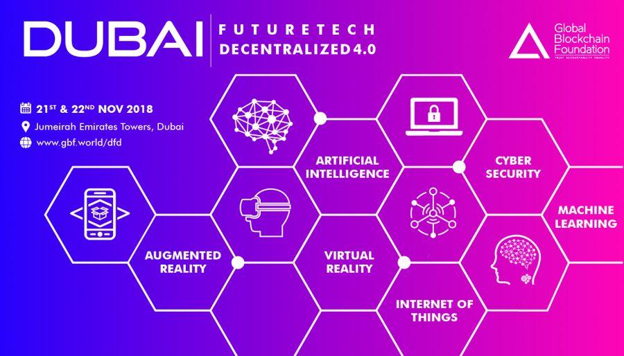 Dubai Future-Tech Decentralized 4.0 - Blockchain, IoT, AI, ML, and Cyber Security
