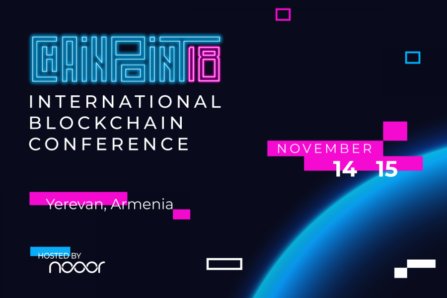 Mark your calendars for the next grand international blockchain conference - ChainPoint