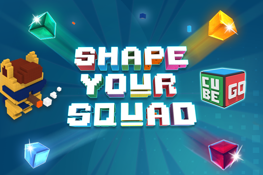 Getting bored with casual collectible blockchain games? Cubego could help