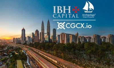 CGCX.io to offer world's first blockchain-based investment bank in partnership with the Archipelago Group and IBH Capital