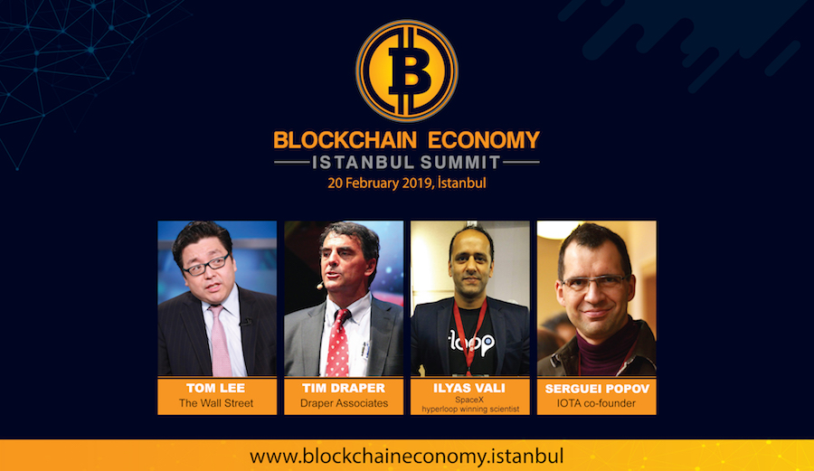 The IOTA co-founder Serguei POPOV is taking his place at the Blockchain Economy Istanbul Summit!