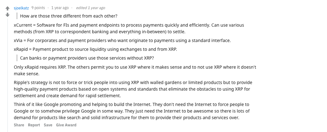 xRapid, xCurrent, and xVia | Source: Reddit