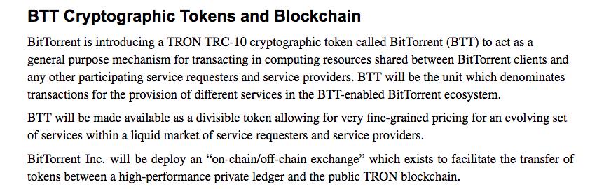 BitTorrent's on-chain/off-chain exchange | Source: BitTorrent whitepaper