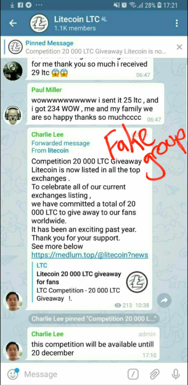 Charlie Lee's Tweet | Source: Twitter