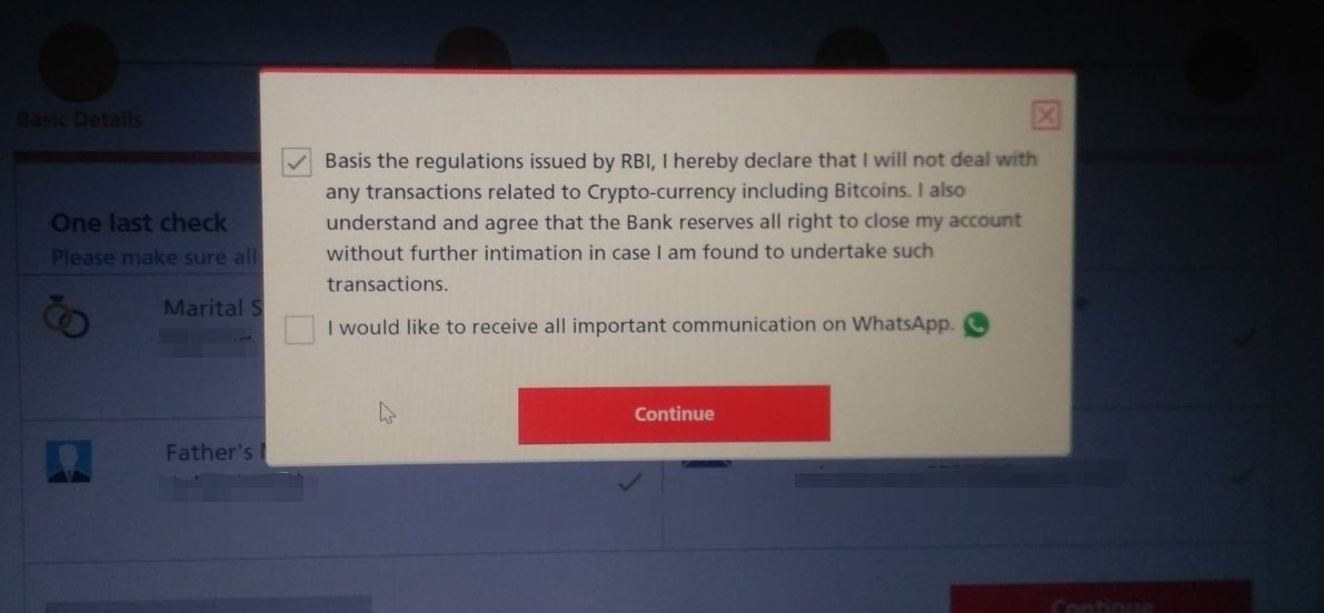 Cryptocurrency adoption prohibited by Indian banks; force customers to sign contract - AMBCrypto News