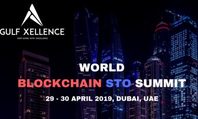 WORLD BLOCKCHAIN STO SUMMIT 29 - 30 April 2019, Dubai, UAE