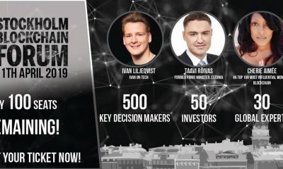 Co-Founder of Newly Launched ZBX Exchange Speaking at Stockholm Blockchain Forum