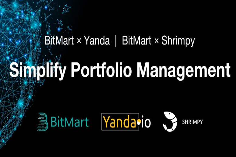 BitMart Partners with Yanda and Shrimpy to Simplify Portfolio Management