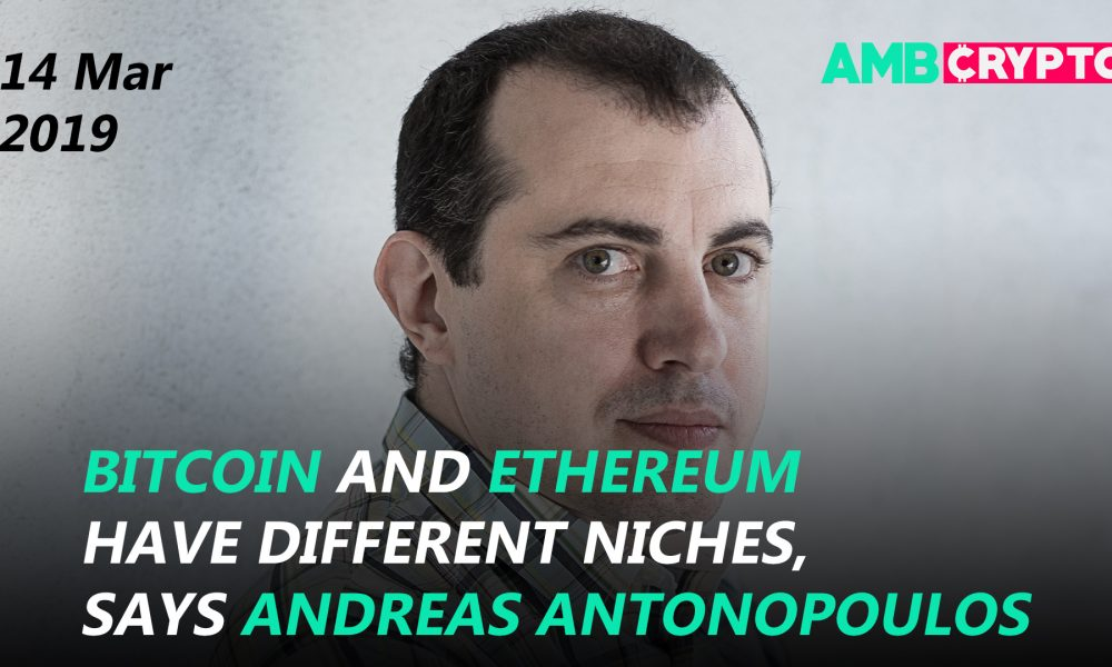 Andreas Antonopoulos on BTC and ETH, <bold>Jesse</bold> Powell's new <bold>Twitter</bold> war and more