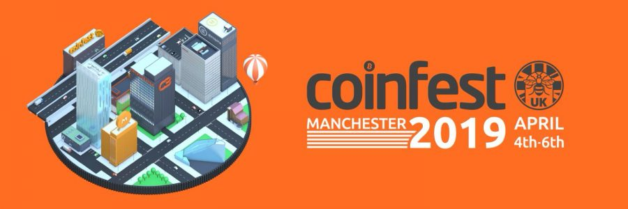 CoinFestUK2019: Countdown to this year's CoinFestUK has begun!