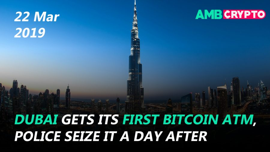 Binance looking for regulatory paradise, Dubai's Bitcoin ATM goes bust and more