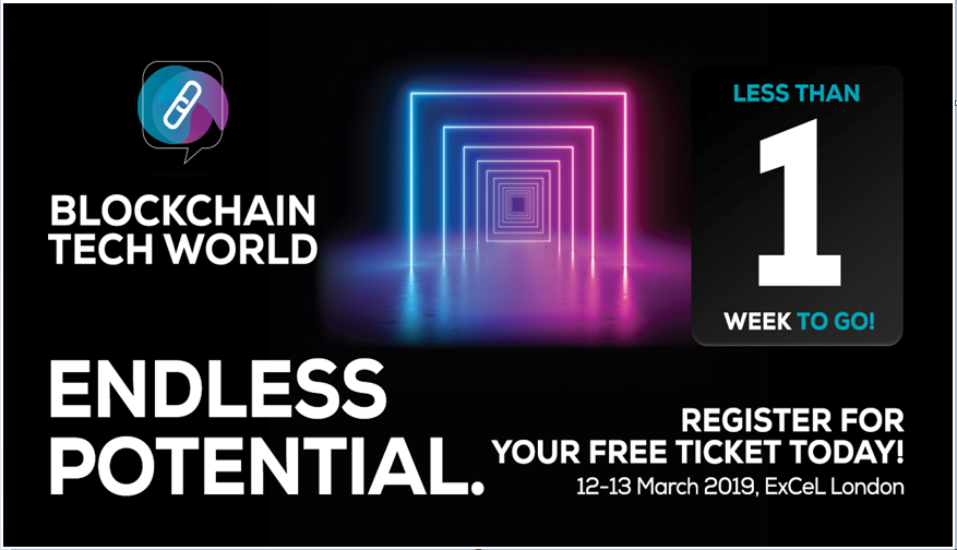 """Blockchain Technology World to take place in UK's largest tech event; Event primarily to focus on """"real-world"""" blockchain applications"""