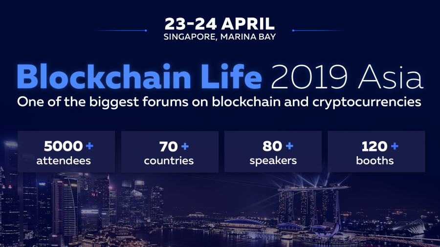Global Forum Blockchain Life 2019 welcomes 5000+ attendees and top companies for its 3rd edition in Singapore!
