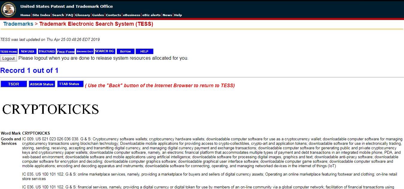 86249fe6b Nike joins the crypto-race  files trademark application for ...