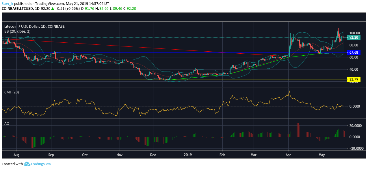 Bitcoin [BTC] and Litecoin [LTC] Price Analysis: BTC and LTC are seen having a bull ride after a long stagnant market.