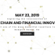 ON: Chain19, the annual thought-leadership conference to be held on Thursday, May 23rd!