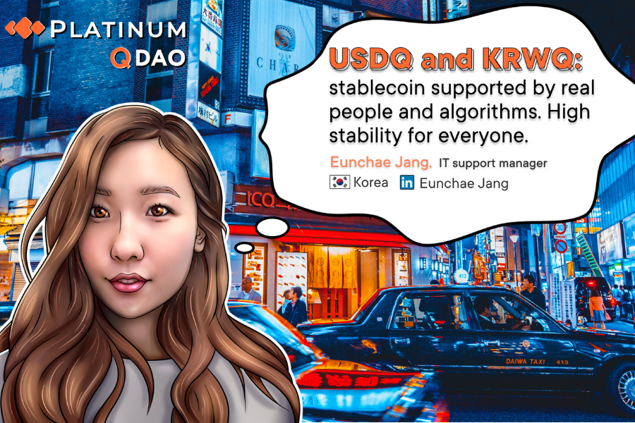 USDQ/KRWQ and Q DAO Challenge Status Quo in Stablecoins. Trade USDQ and on BTCNEXT with Look for New Coins KRWQ, CNYQ and JPYQ in Coming Months