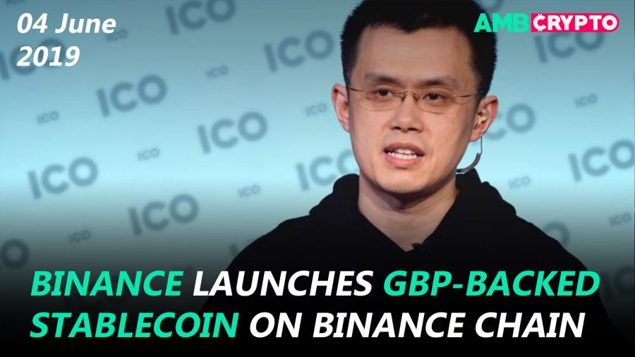 Bitcoin falls below $8,000, Binance launches GBP-backed stablecoin and more