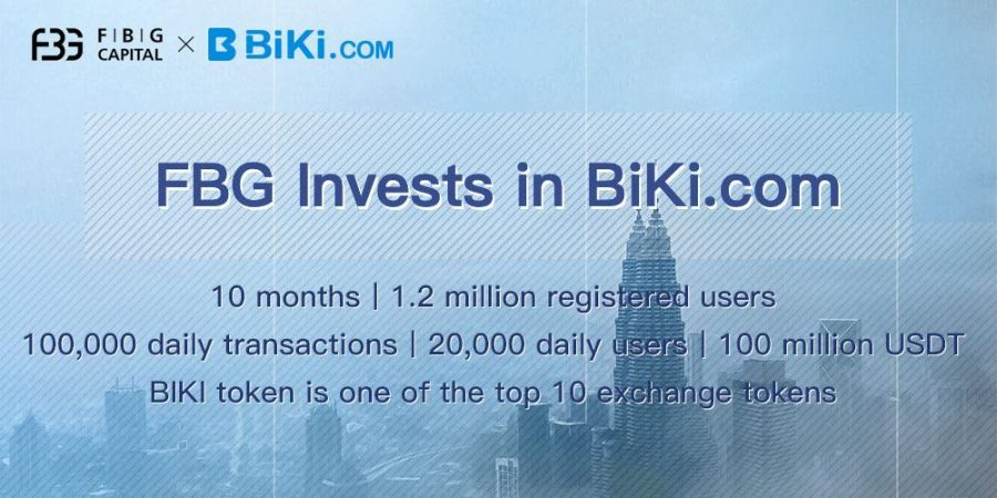 Fast-Growing BiKi.com Secures Investments from Genesis and FBG Capital