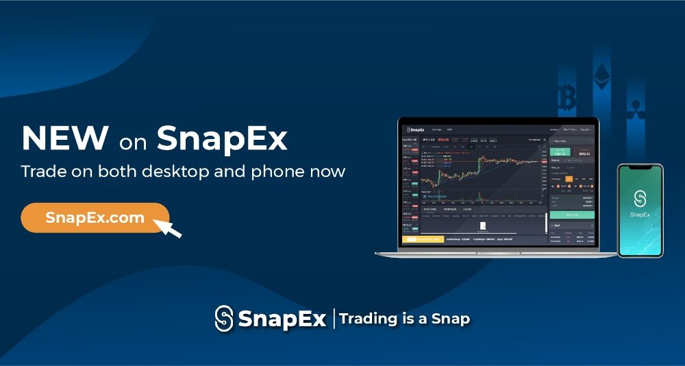 SnapEX: a Contract Trading Platform for everyone-Featuring as app, A web Trader and Discounted Fees thumbnail