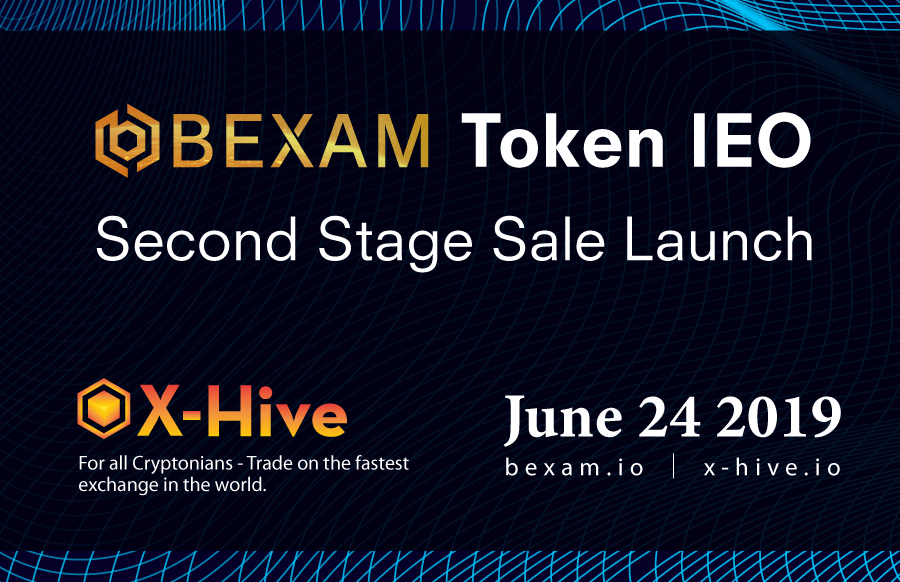 The first $BEXAM IEO successfully completed on X-Hive Exchange