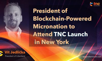 President of Blockchain-Powered Micronation to attend TNC launch in New York