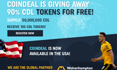 CoinDeal enters the USA market and launches own CDL Token